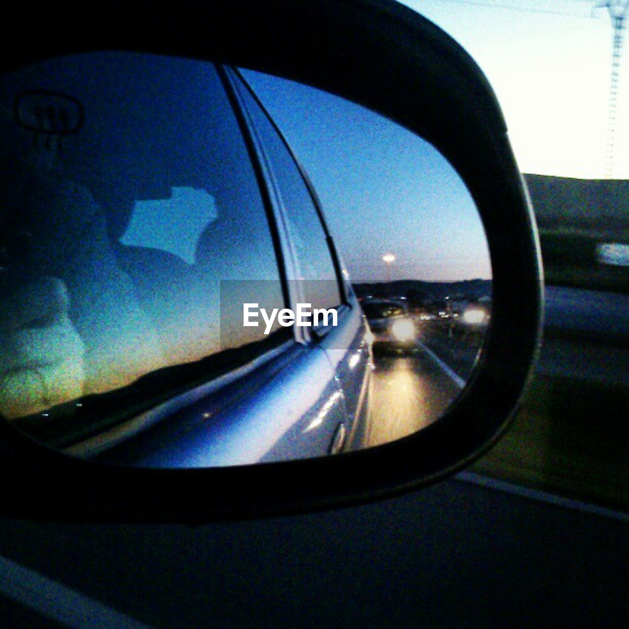 transportation, mode of transport, car, vehicle interior, land vehicle, glass - material, transparent, window, car interior, windshield, travel, reflection, part of, side-view mirror, on the move, road, airplane, cropped, blue, close-up