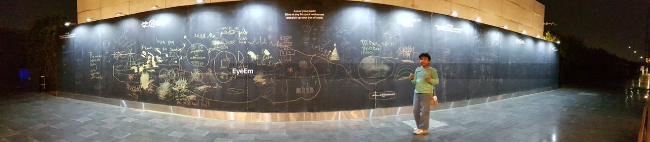 Black Board Chalk Chalkboard Chalk Drawing Boxpark Dubai