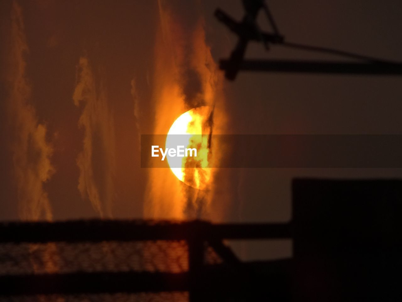 flame, burning, silhouette, danger, no people, night, nature, sky, heat - temperature, sunset, water, outdoors, sea, clear sky, beauty in nature, close-up