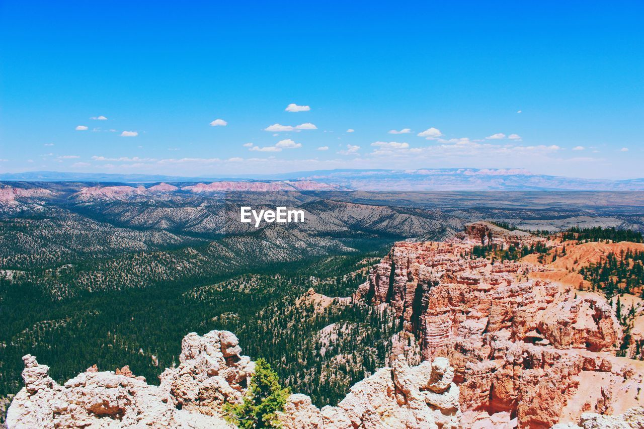Scenic View Of Landscape Against Sky At Bryce Canyon National Park