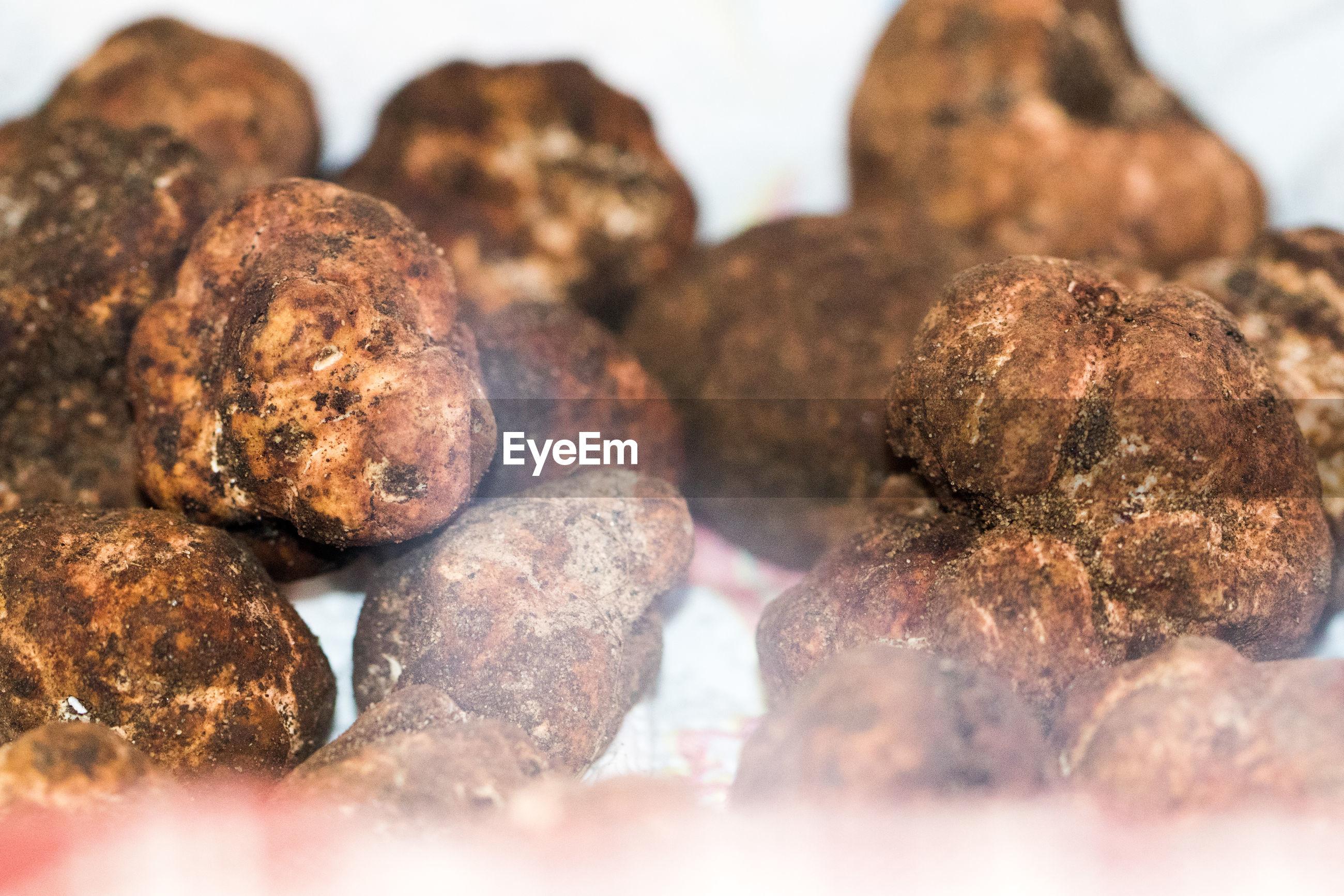 Detail shot of potatoes