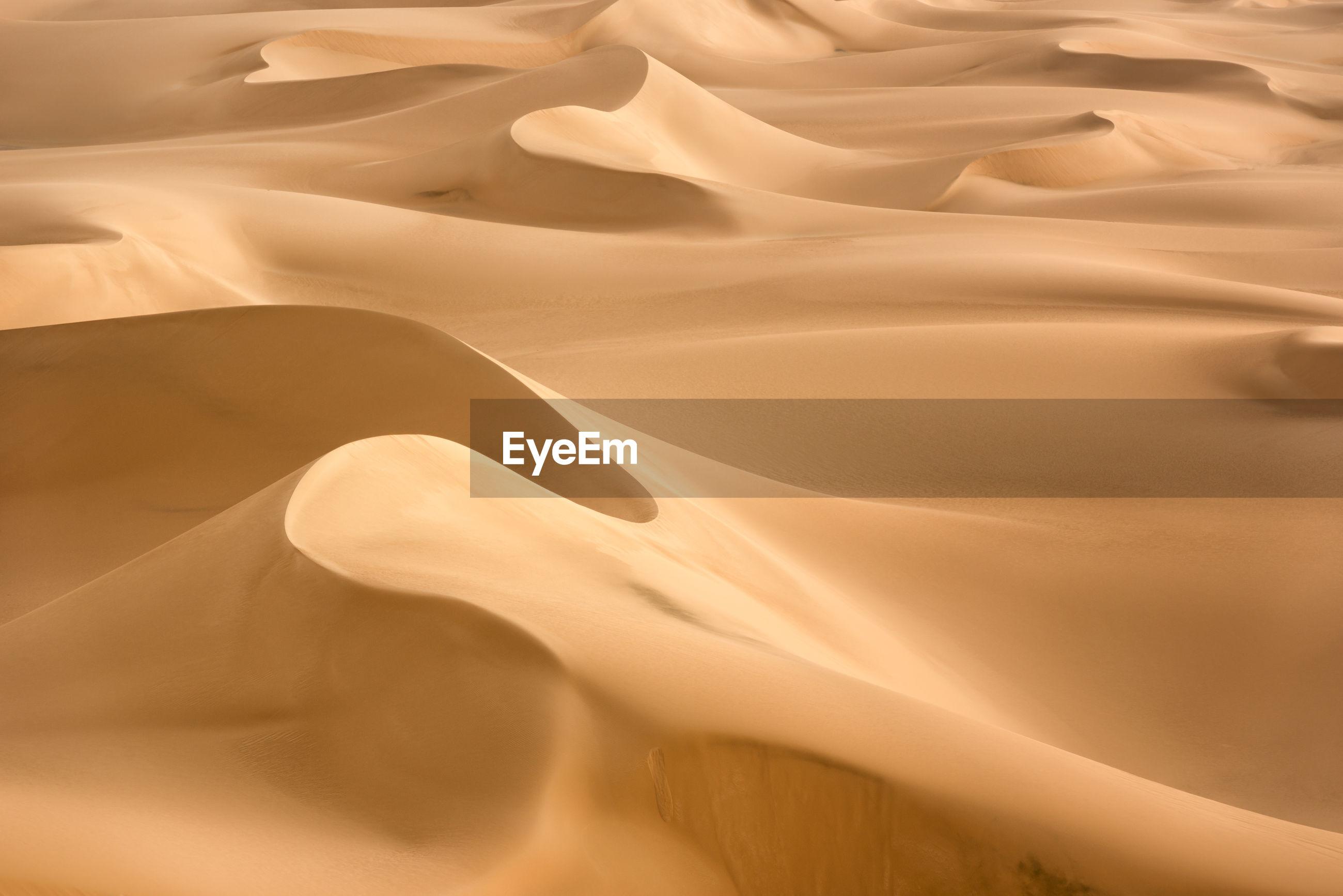 Full frame shot of sand