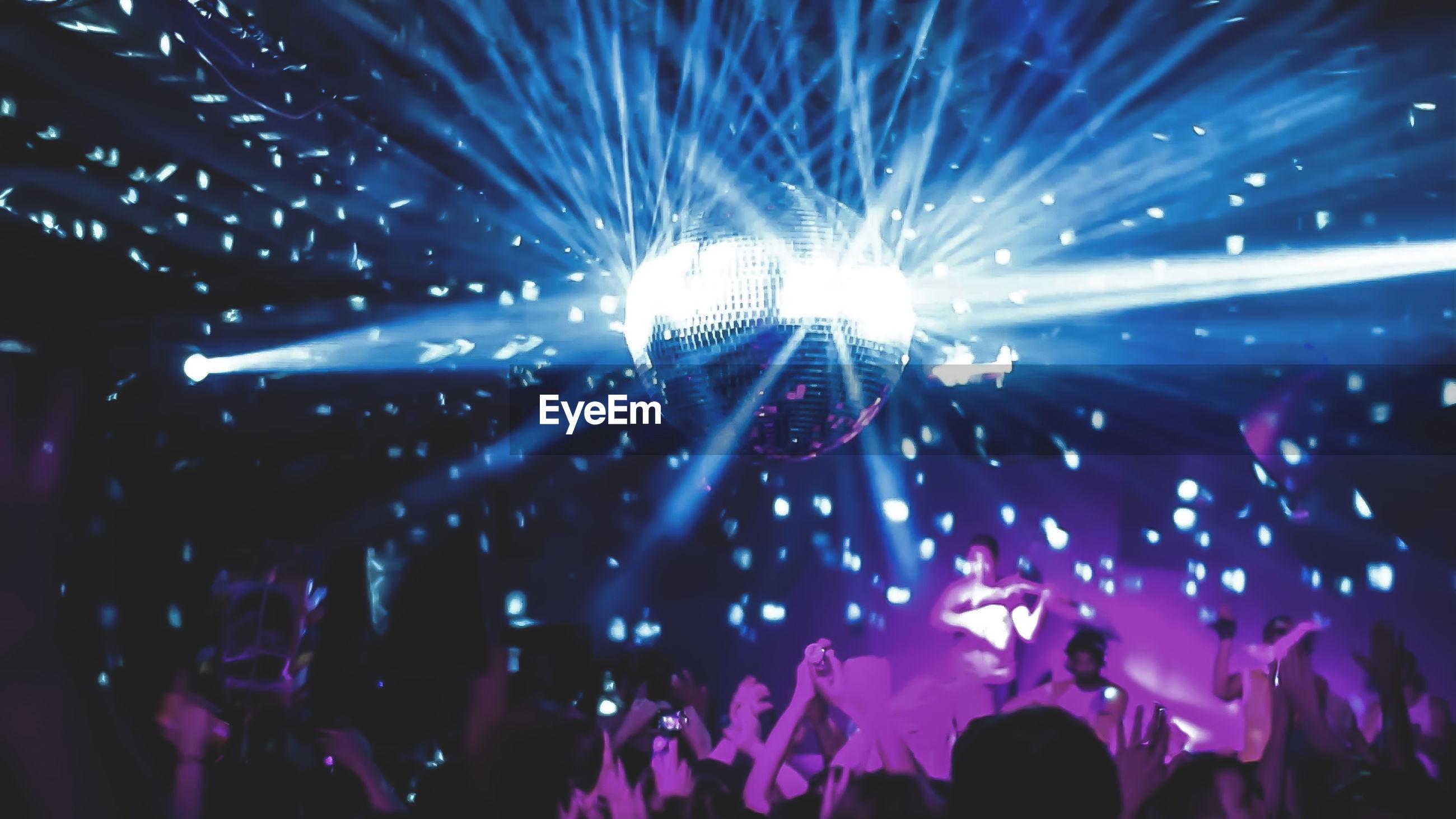 People enjoying in nightclub