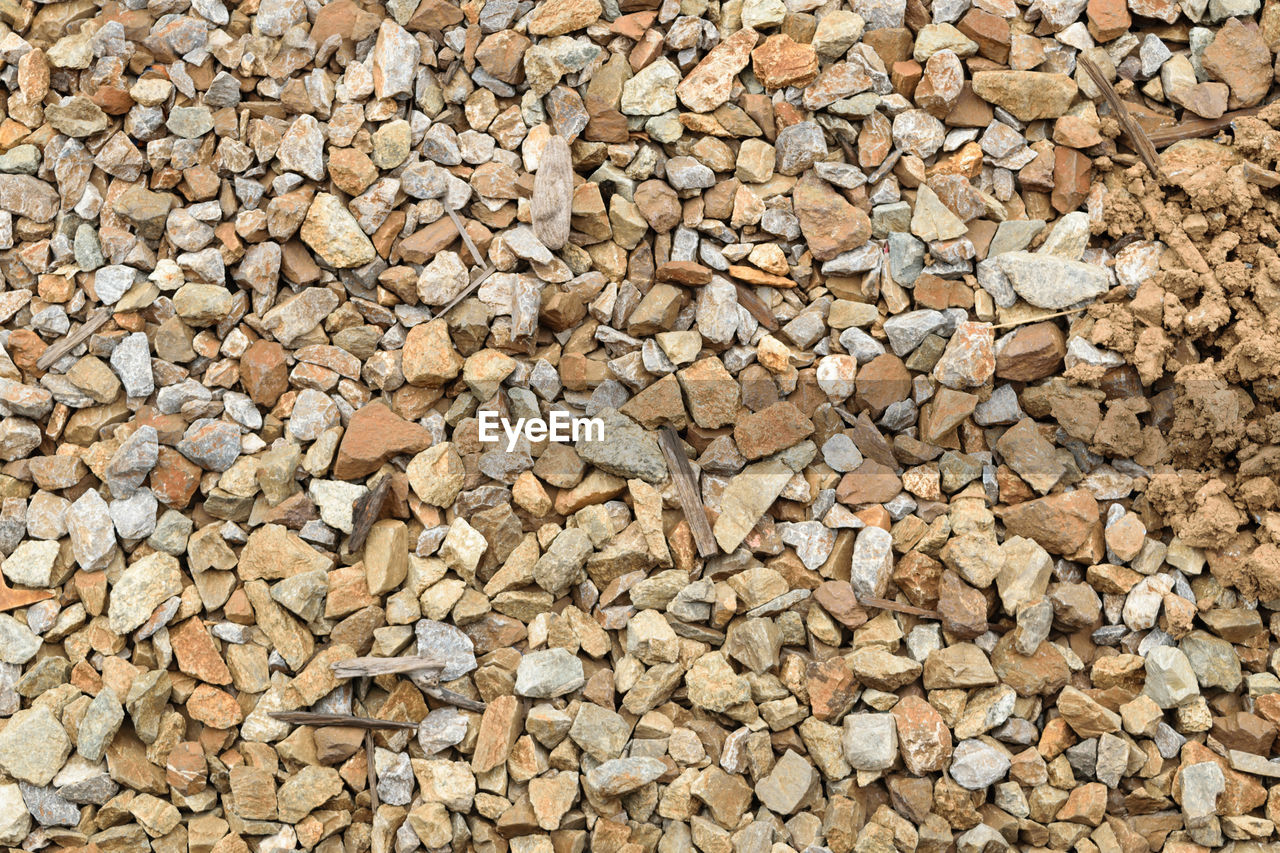 large group of objects, full frame, abundance, backgrounds, pebble, no people, close-up, day, nature, outdoors