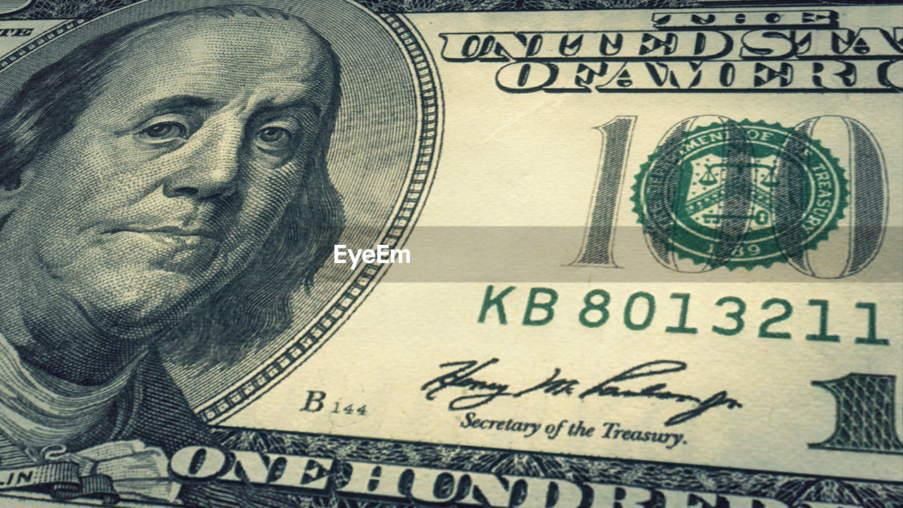 paper currency, finance, currency, business, wealth, close-up, text, extreme close-up, no people, banking, government, body part, backgrounds, communication, dollar sign, economy