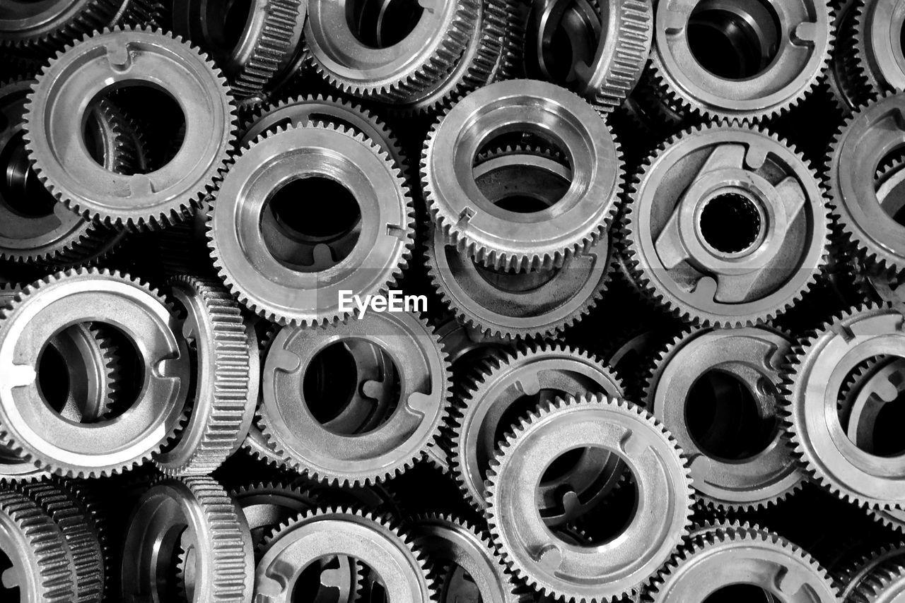 Full Frame Shot Of Machine Parts