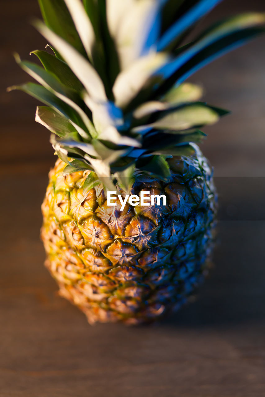 close-up, food and drink, food, healthy eating, table, wellbeing, still life, no people, plant, freshness, fruit, indoors, selective focus, nature, pineapple, tropical fruit, flowering plant, focus on foreground, leaf, vegetarian food