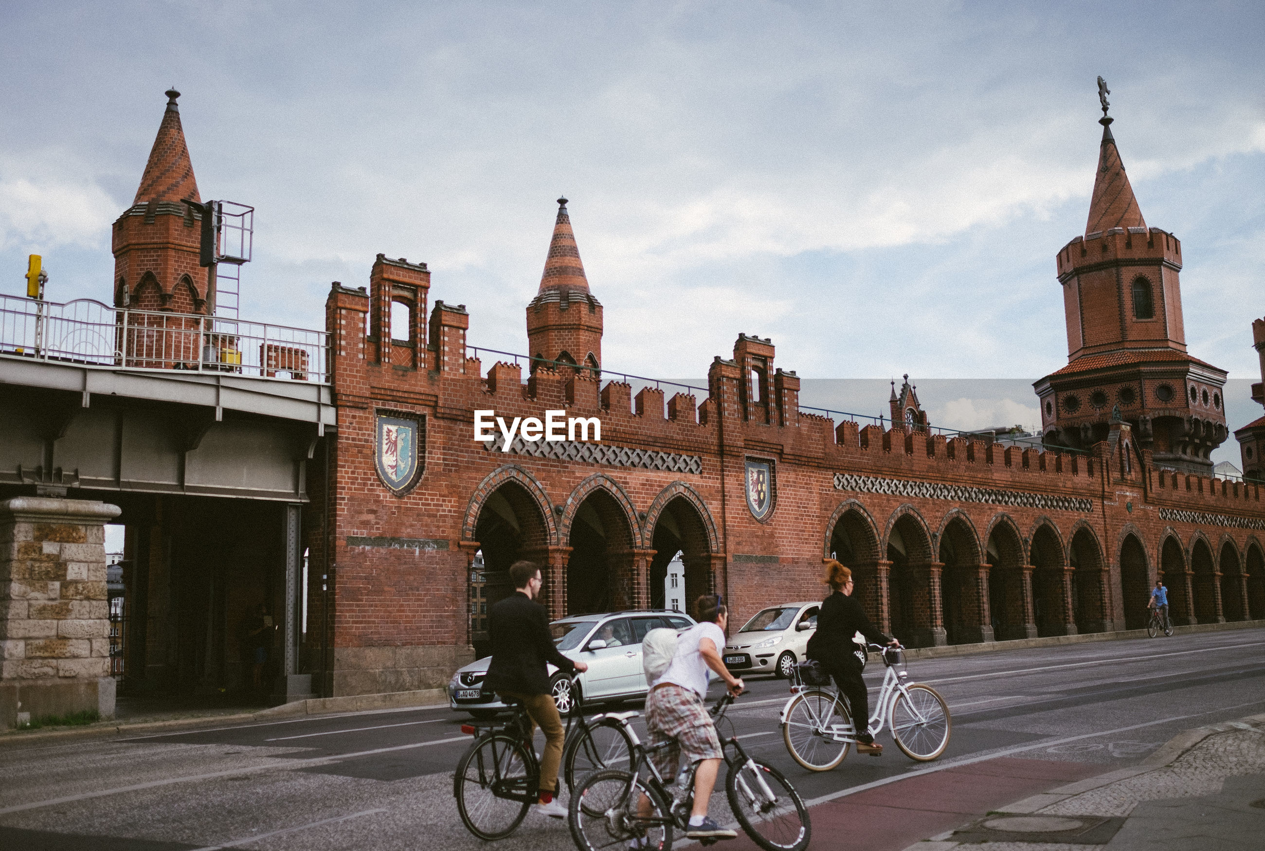 BICYCLES IN A CITY