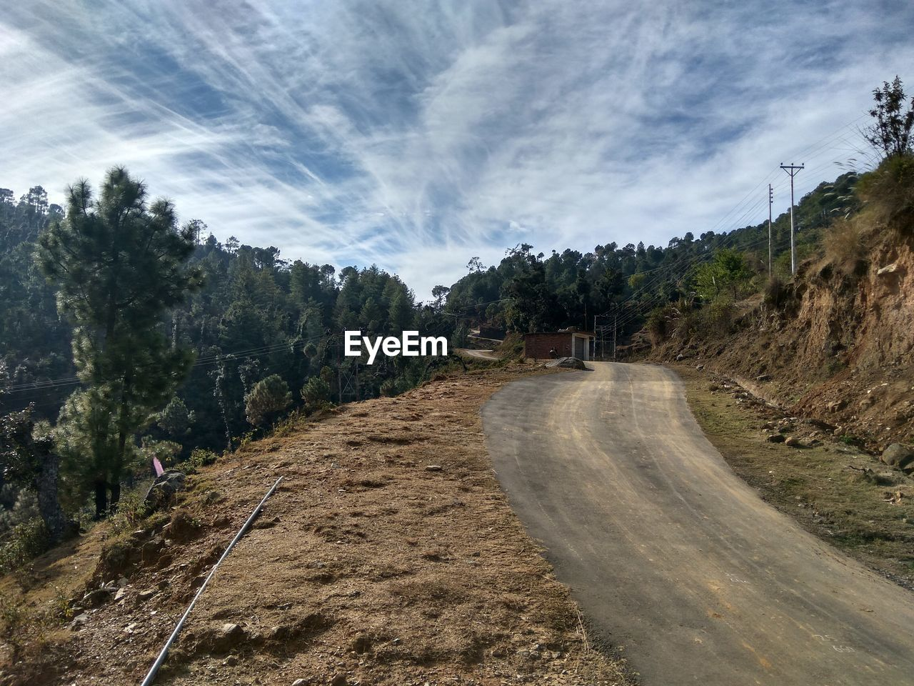 the way forward, road, nature, sky, cloud - sky, tree, scenics, day, beauty in nature, outdoors, mountain, no people