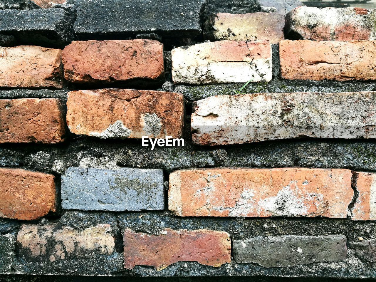 brick wall, wall - building feature, backgrounds, full frame, built structure, architecture, red, no people, close-up, outdoors, textured, day
