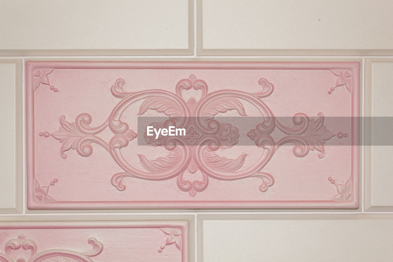 design, pattern, no people, indoors, home interior, close-up, architecture, day