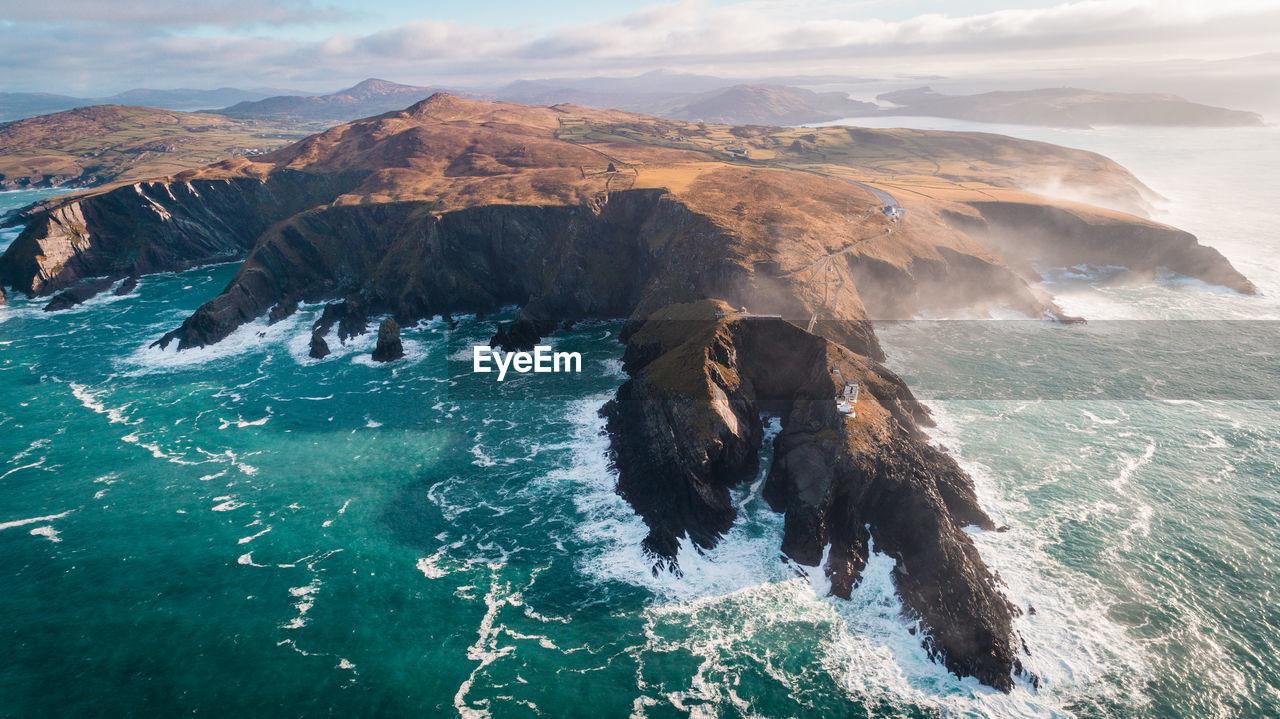 Majestic Seascape In Ireland