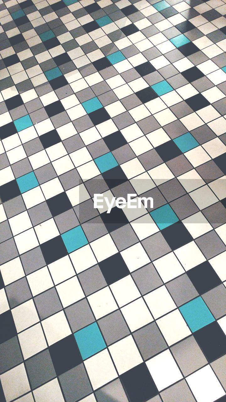 Full Frame Shot Of Tiled Floor