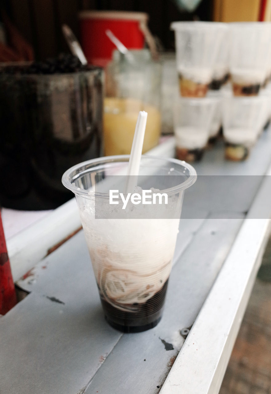 drinking straw, drink, indoors, food and drink, no people, close-up, freshness, day