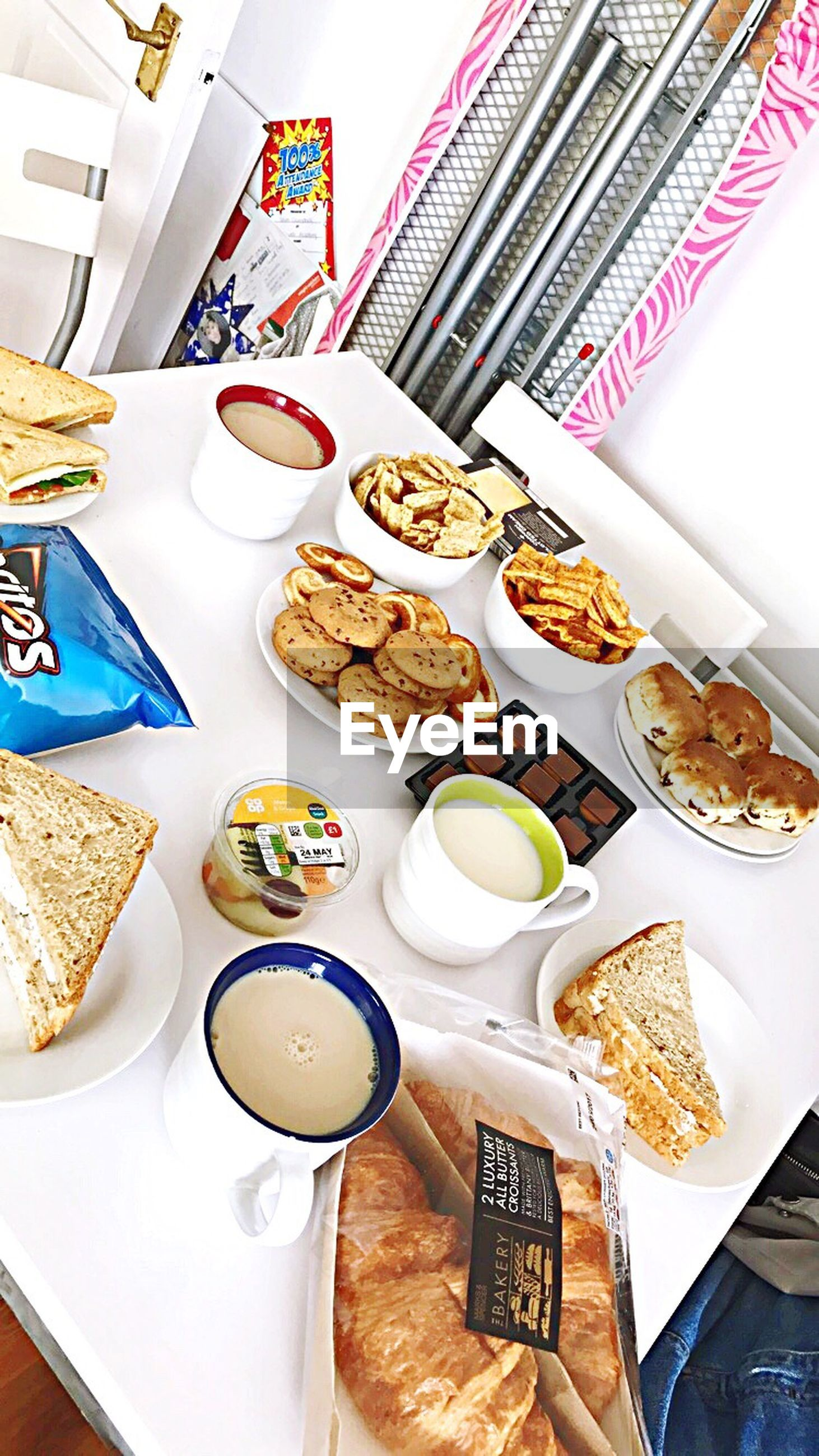 food, food and drink, plate, ready-to-eat, breakfast, serving size, table, meal, indoors, freshness, bread, indulgence, healthy eating, no people, drink, sweet food, gourmet, day