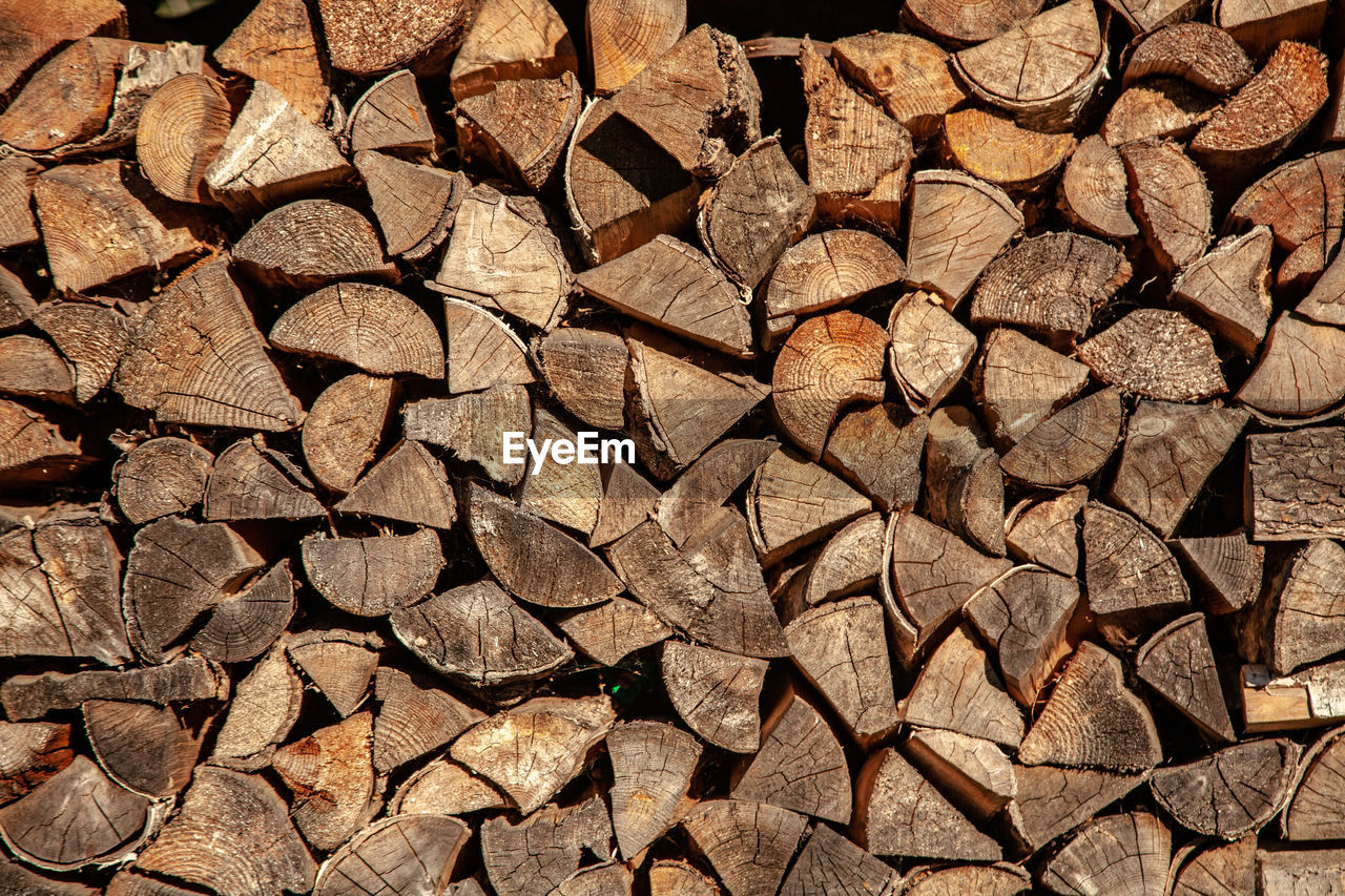 full frame, log, firewood, backgrounds, timber, large group of objects, lumber industry, forest, abundance, deforestation, wood, tree, stack, wood - material, pattern, woodpile, no people, environmental issues, brown, textured, chopped, coniferous tree