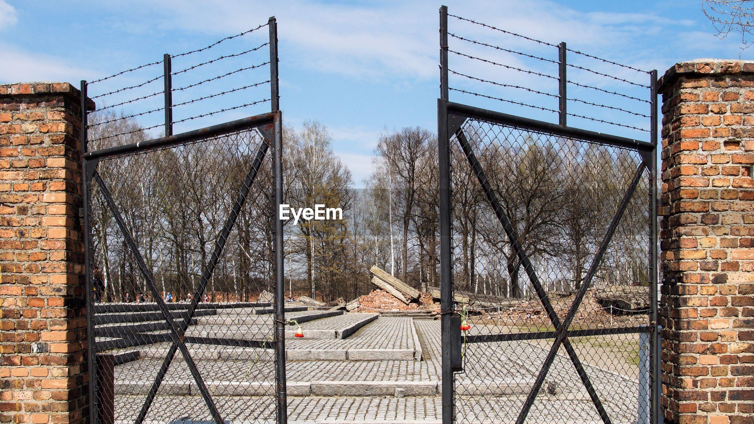 Close-Up Of Gate