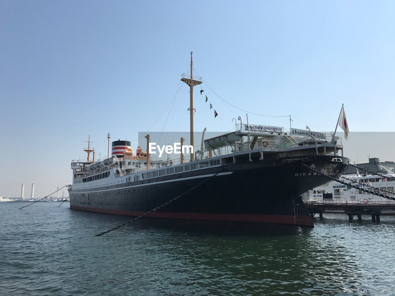 transportation, nautical vessel, water, mode of transport, no people, waterfront, day, clear sky, ship, outdoors, sea, harbor, nature, sky, architecture