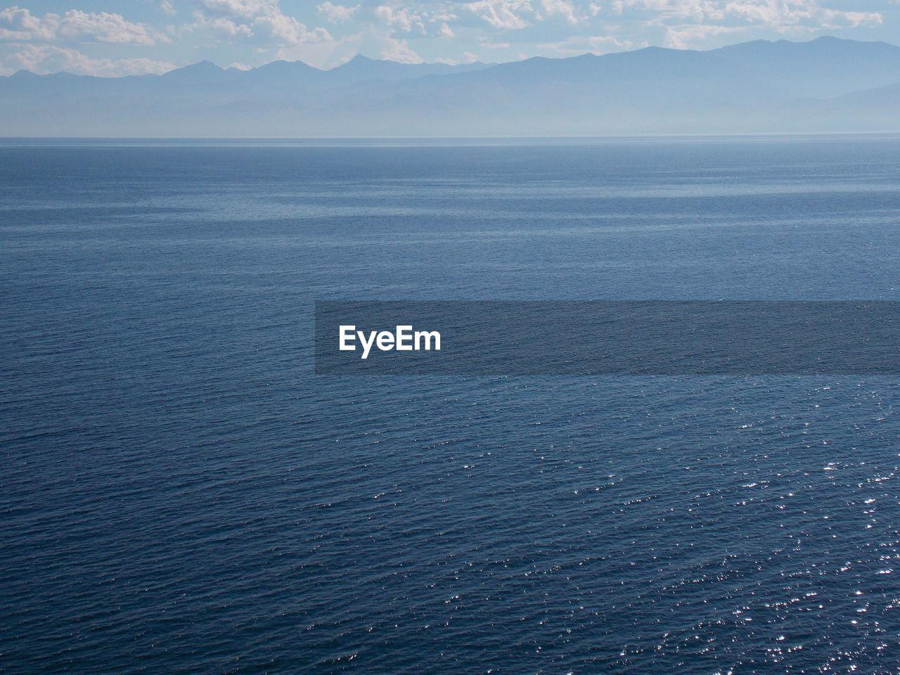 Close-Up Of Blue Sea