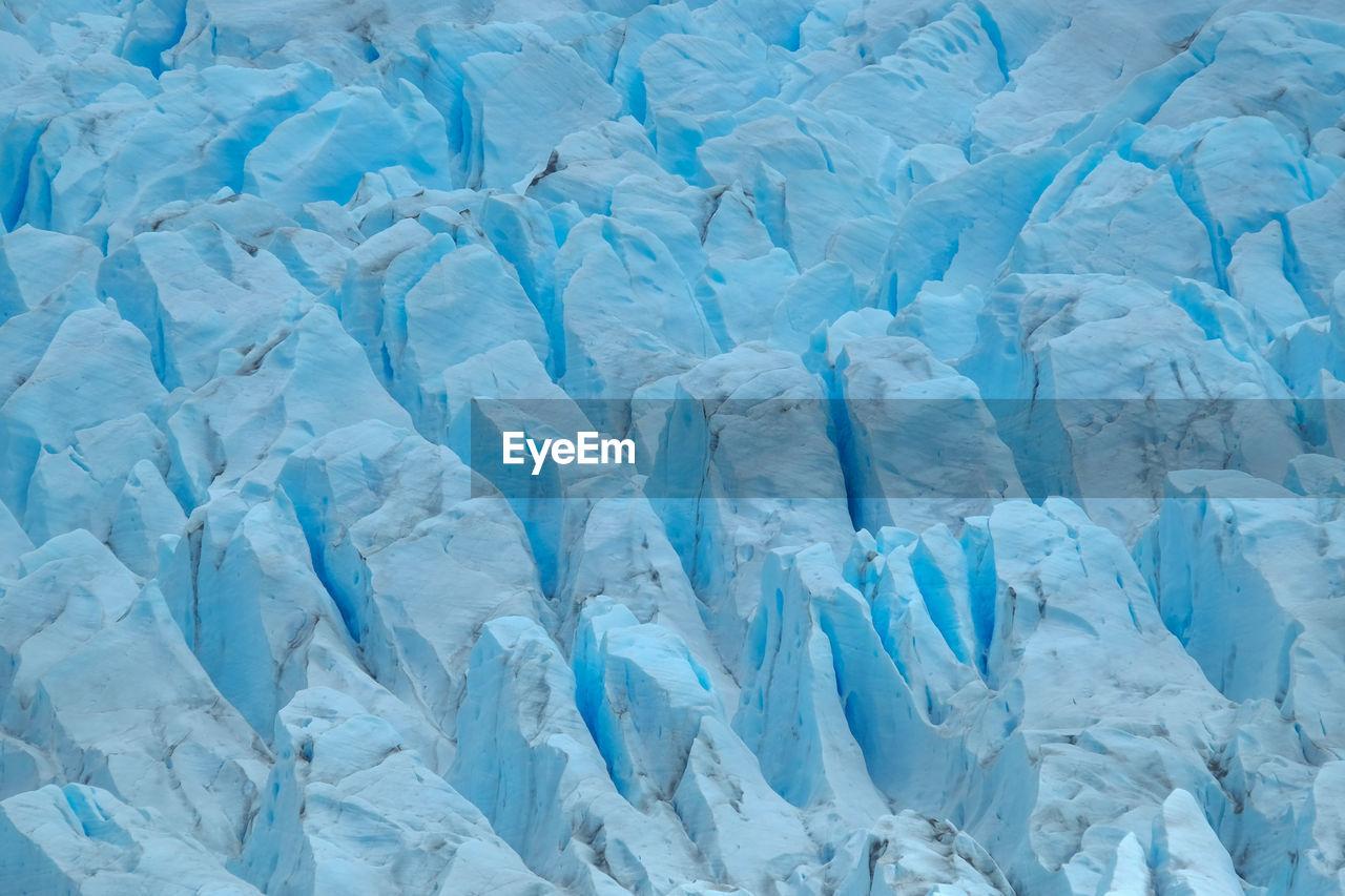 Full frame  glacier