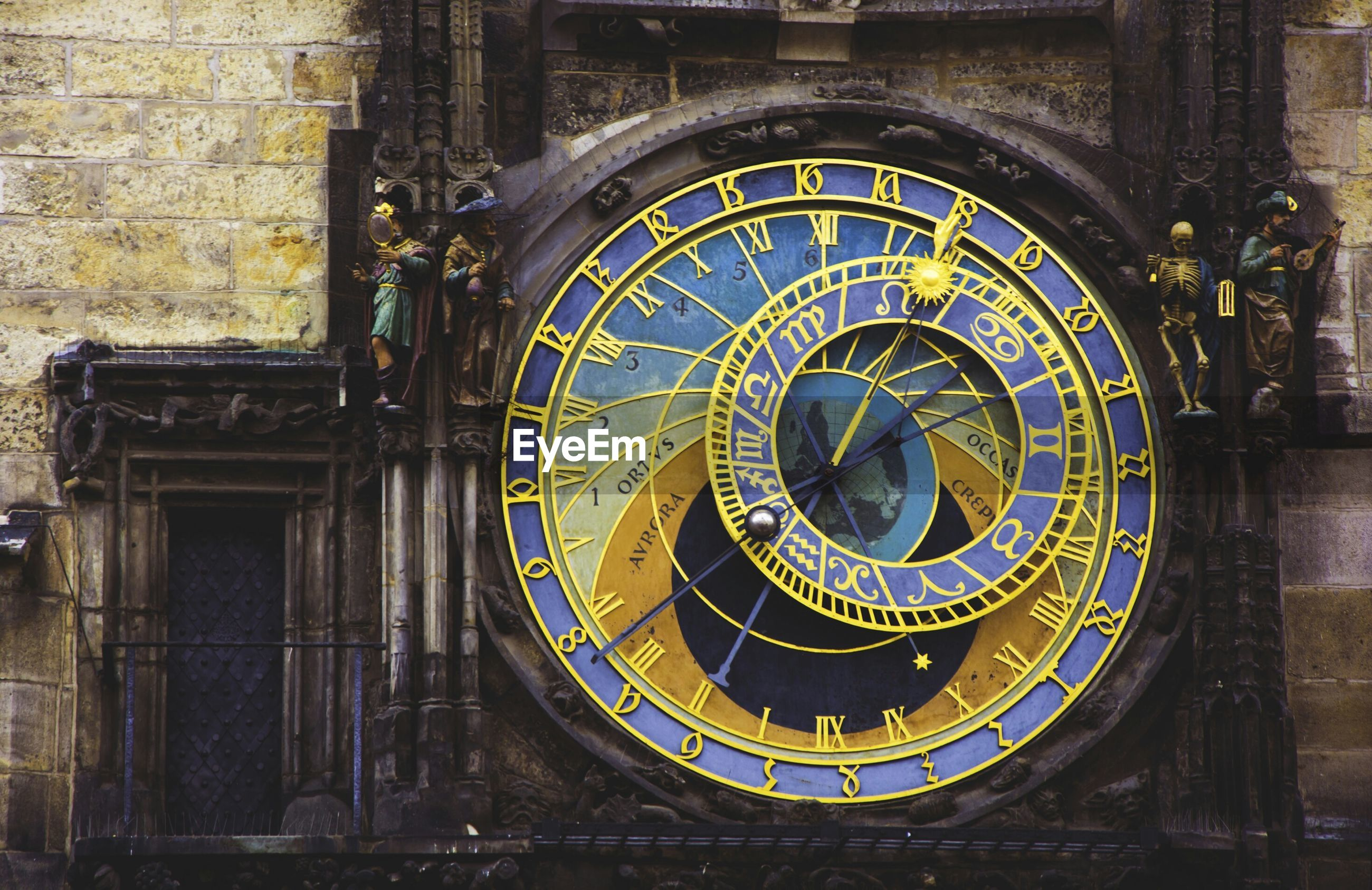 Detail of astronomical clock