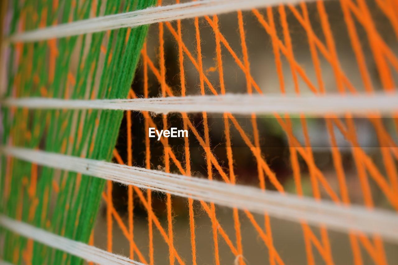 Full frame shot of patterned window