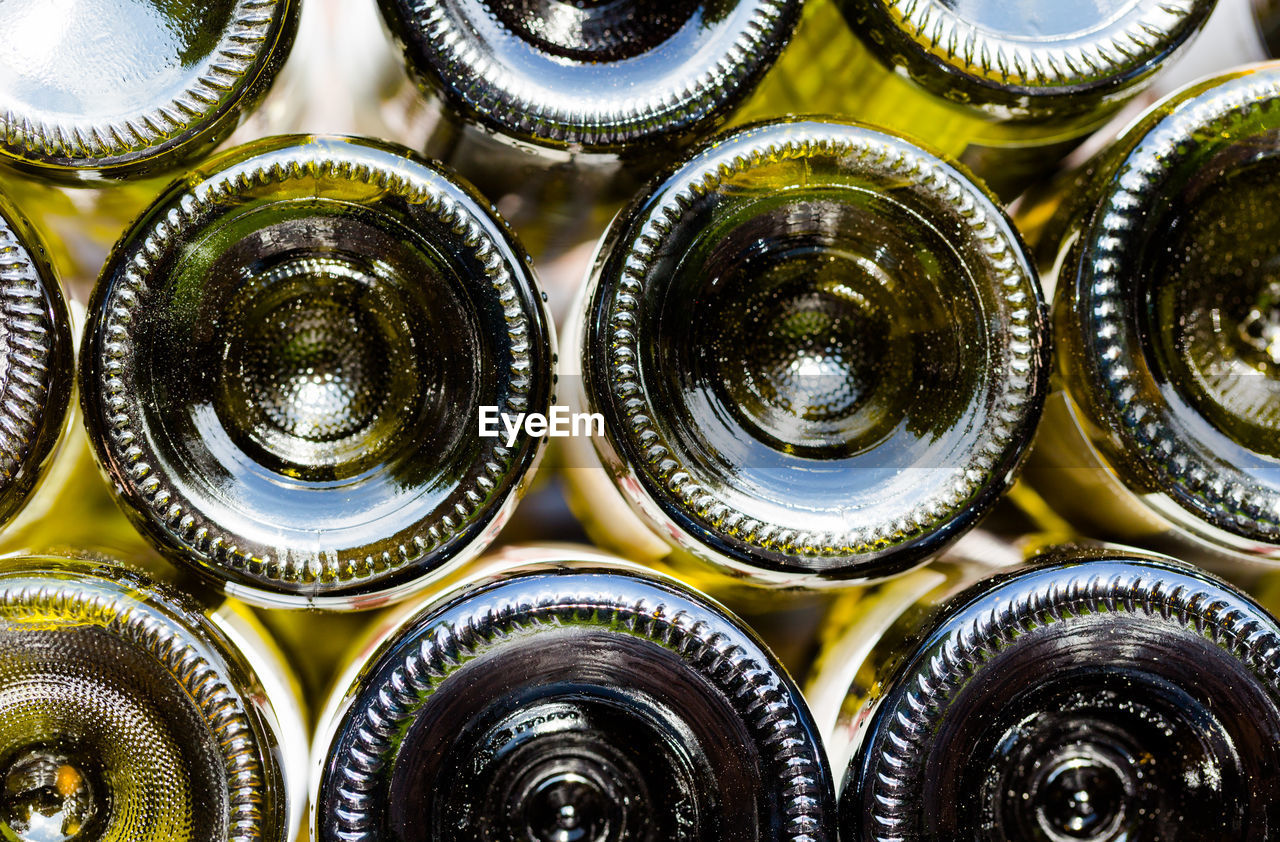 full frame, backgrounds, large group of objects, alcohol, bottle, wine, food and drink, abundance, indoors, drink, no people, wine rack, close-up, day