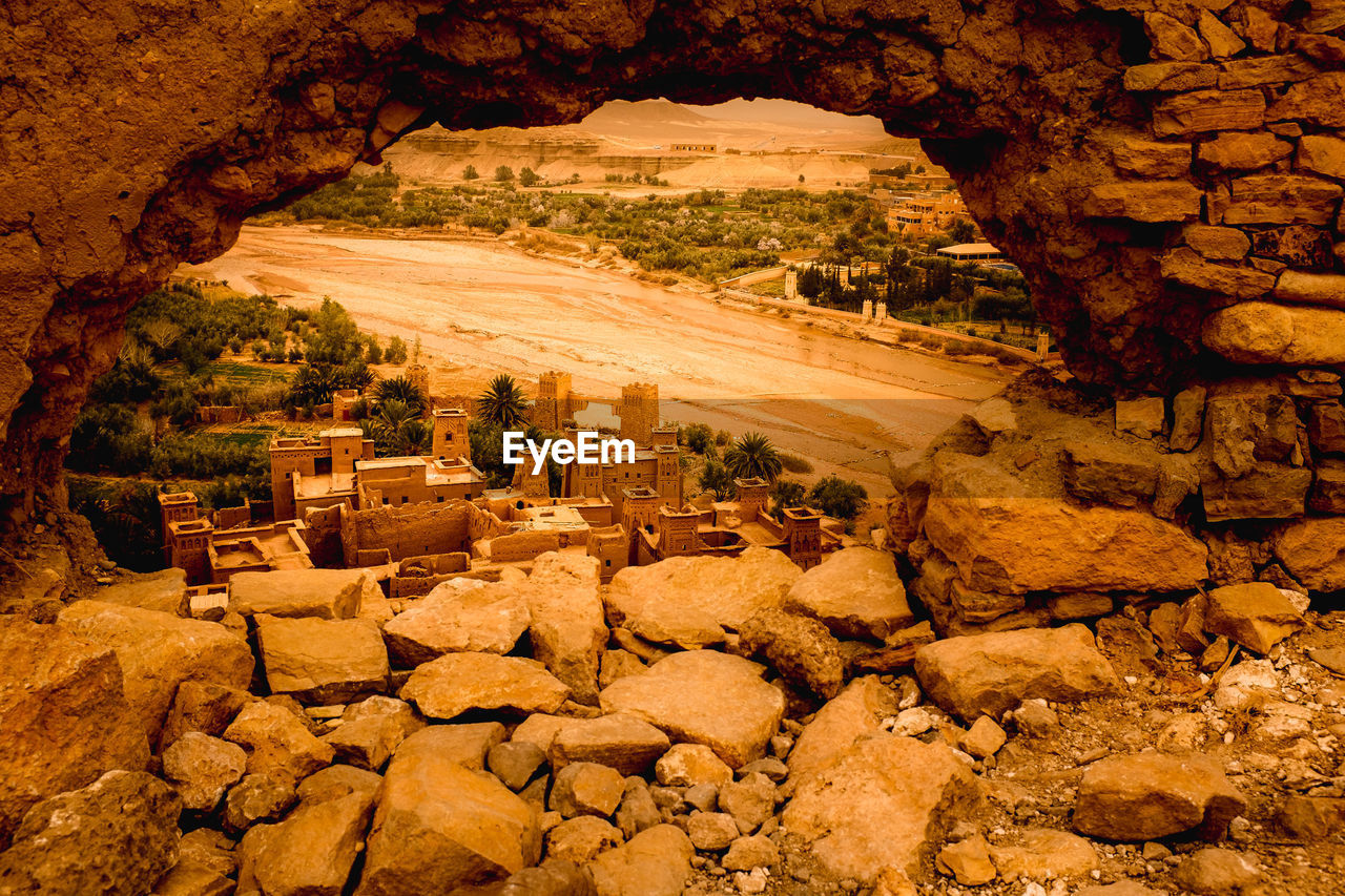 View Of Cave