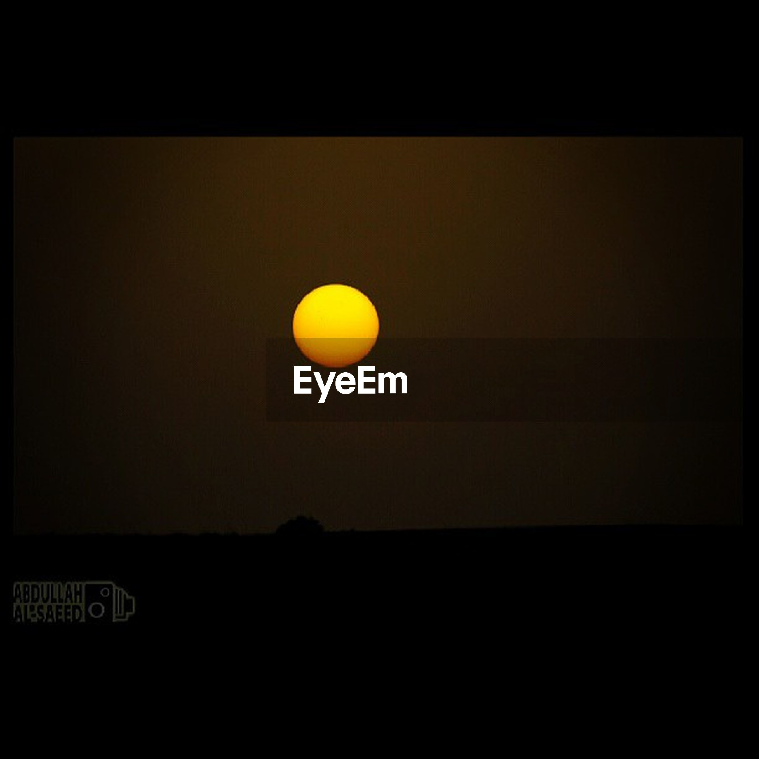 transfer print, copy space, orange color, sunset, auto post production filter, clear sky, moon, night, dark, illuminated, scenics, yellow, tranquil scene, beauty in nature, tranquility, sun, no people, sky, nature, circle