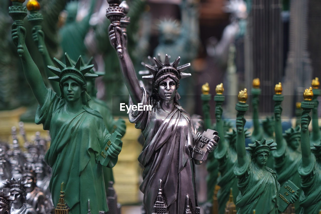 Statue Of Liberty Figurines For Sale At Store