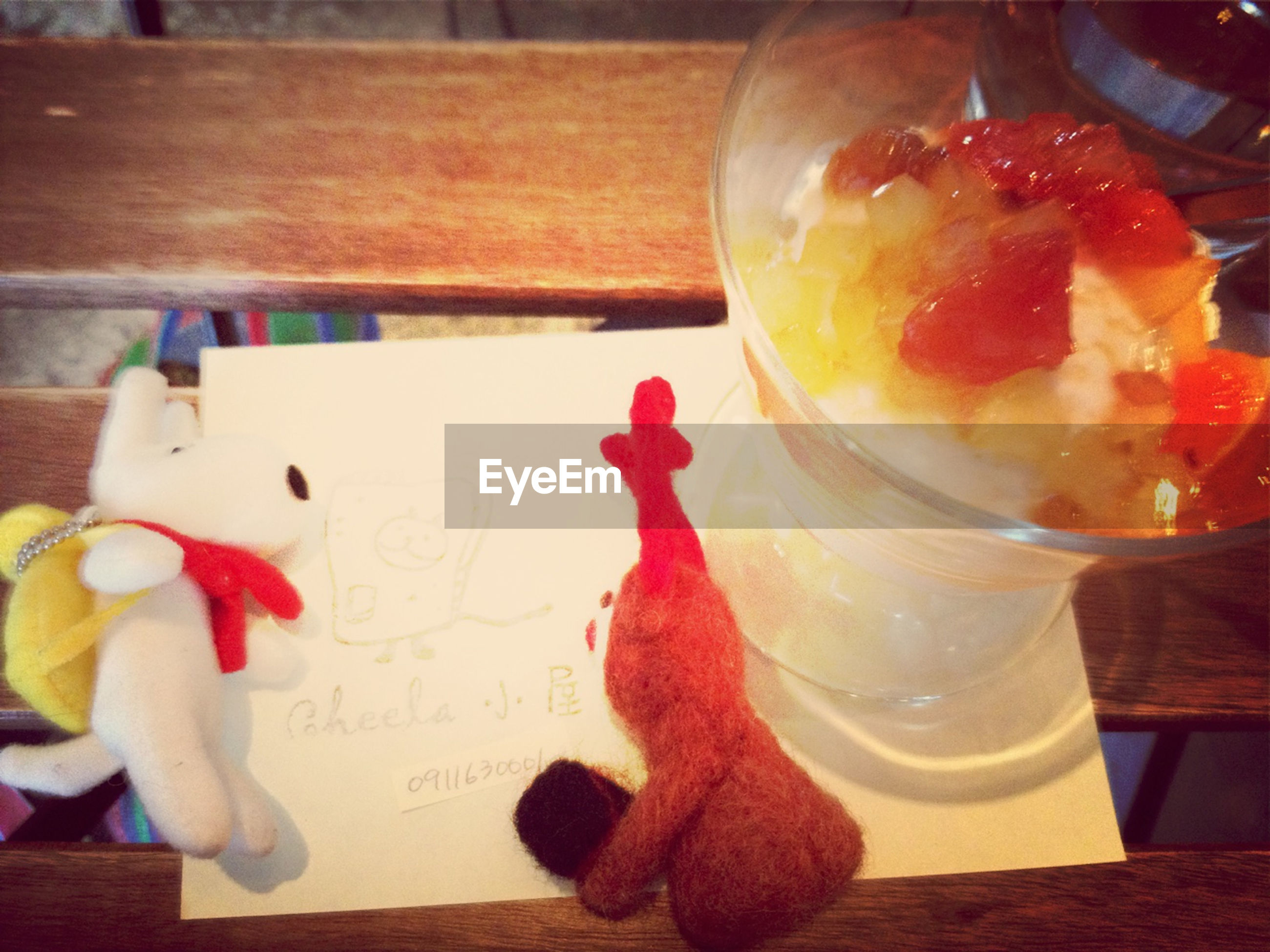 food and drink, indoors, sweet food, food, table, dessert, freshness, still life, ready-to-eat, indulgence, unhealthy eating, temptation, cake, close-up, plate, glass - material, fruit, focus on foreground, strawberry, drink