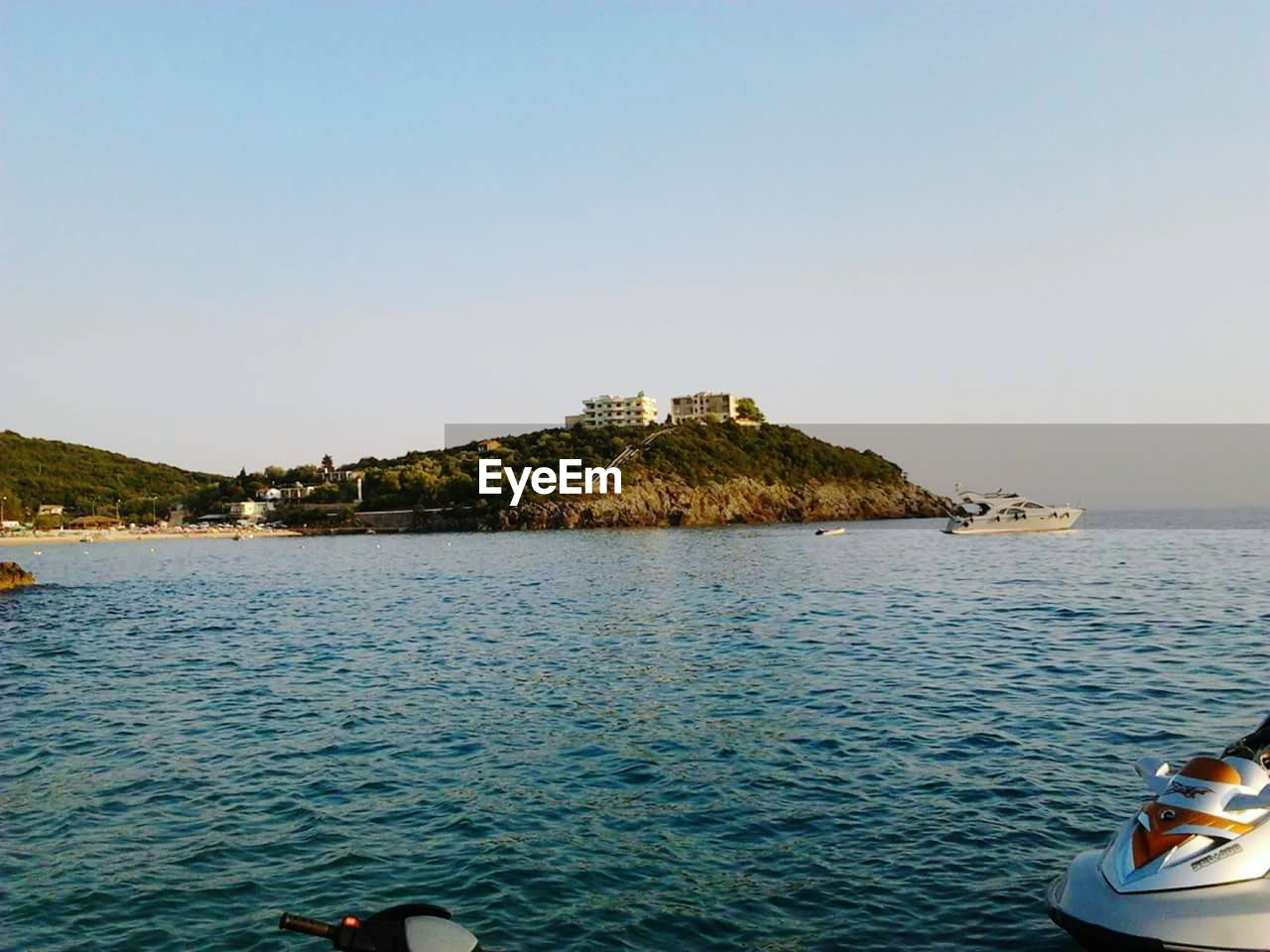 clear sky, nature, water, sea, outdoors, day, scenics, beauty in nature, no people, architecture, building exterior, sky