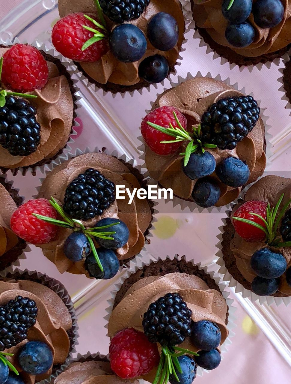 food and drink, food, berry fruit, fruit, freshness, still life, sweet food, table, strawberry, healthy eating, indoors, high angle view, indulgence, sweet, dessert, choice, temptation, no people, directly above, cake, variety