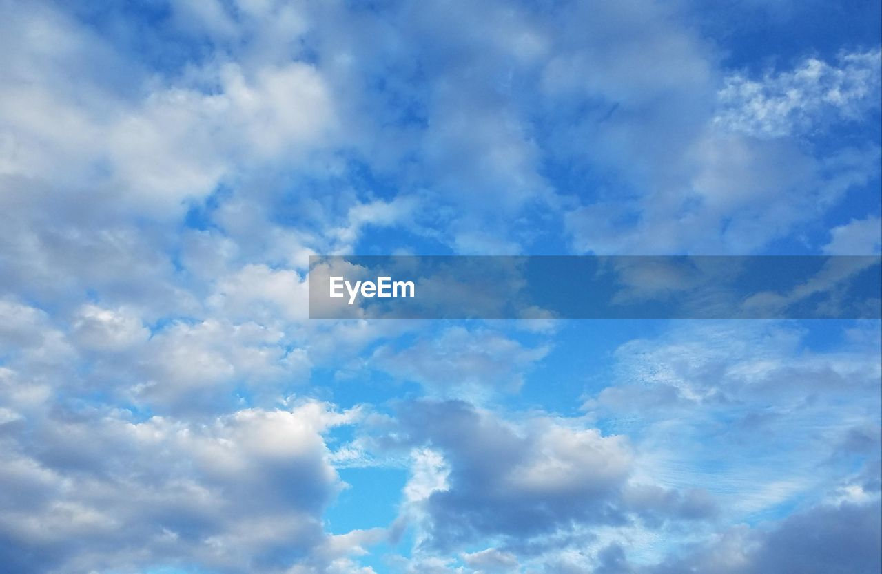 sky, nature, blue, beauty in nature, low angle view, cloud - sky, backgrounds, sky only, full frame, tranquility, no people, day, scenics, outdoors