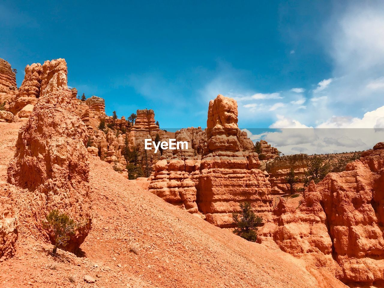 sky, cloud - sky, rock formation, solid, rock, rock - object, tranquil scene, geology, scenics - nature, non-urban scene, no people, tranquility, physical geography, beauty in nature, nature, travel destinations, day, travel, environment, landscape, outdoors, eroded, climate, arid climate, formation, sandstone
