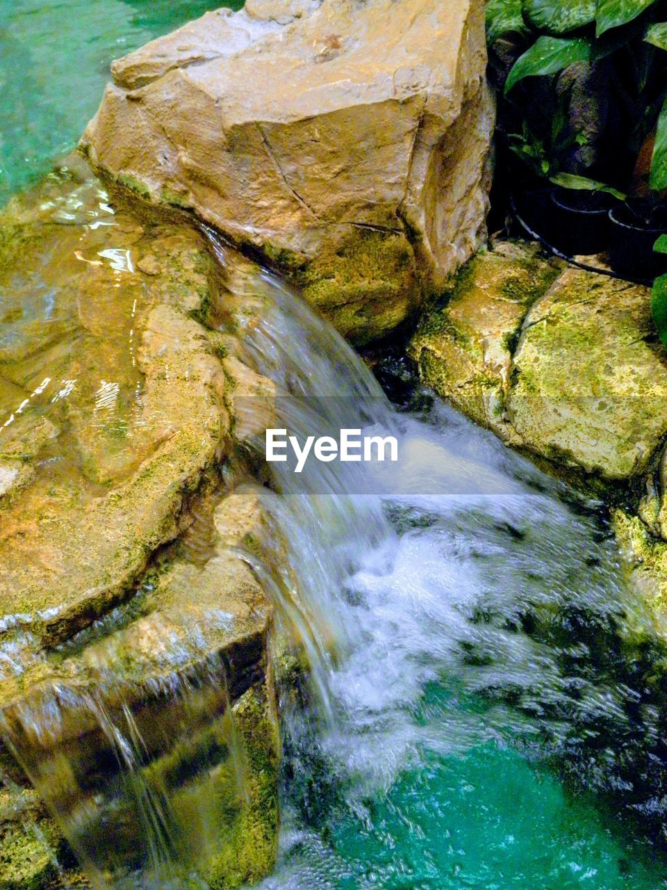 water, rock - object, nature, no people, beauty in nature, day, motion, outdoors, waterfall, tranquility, scenics, close-up