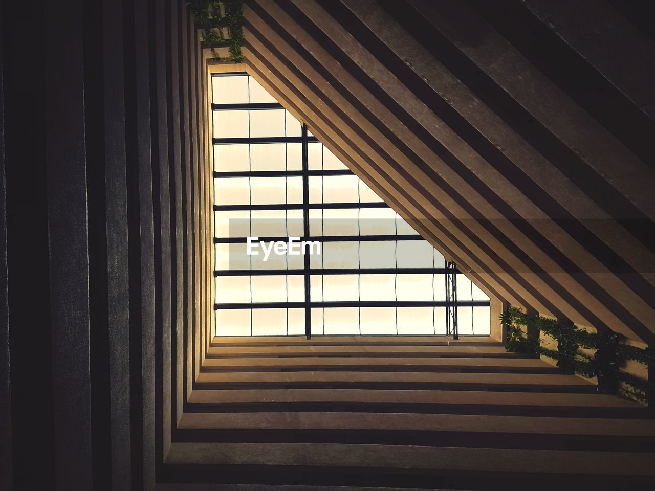 architecture, indoors, window, built structure, curtain, no people, day, building, sunlight, home interior, pattern, wood - material, nature, house, glass - material, absence, direction, shadow, empty, ceiling