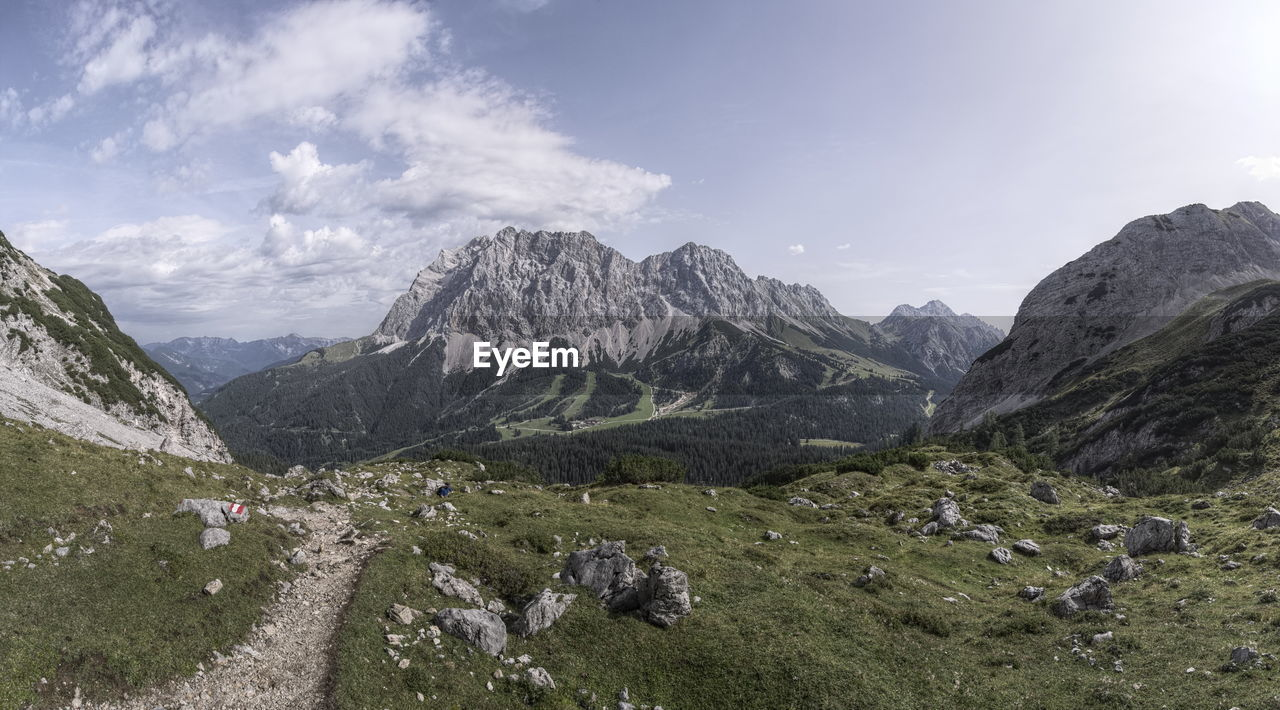 mountain, nature, sky, beauty in nature, landscape, scenery, day, outdoors, no people, range