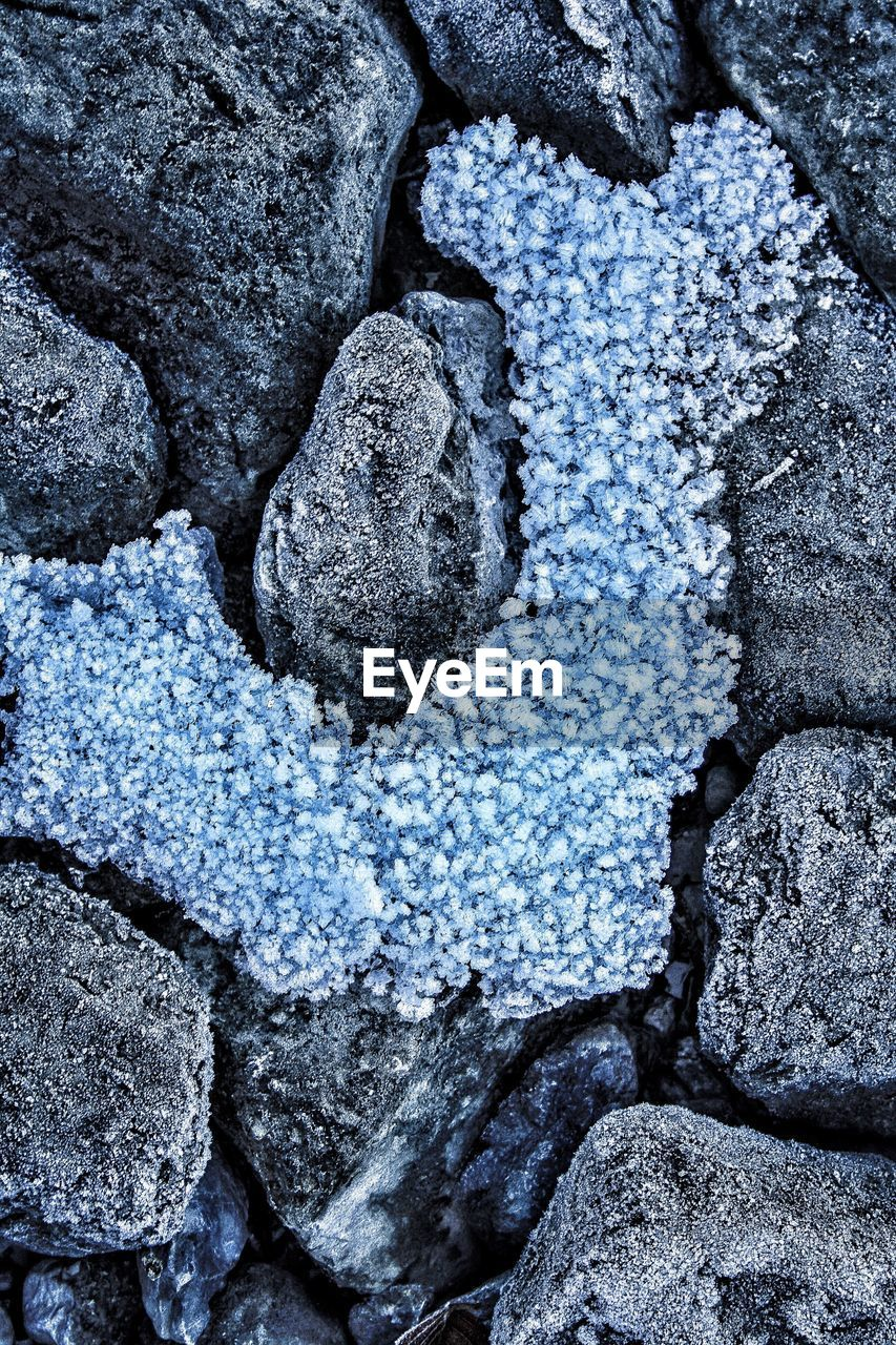 no people, full frame, textured, close-up, backgrounds, lava, cold temperature, nature, outdoors, day