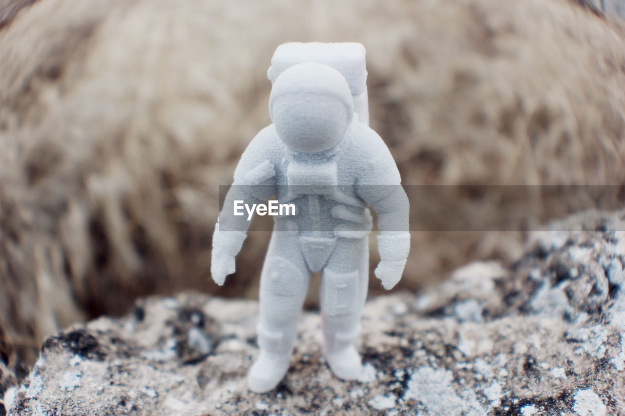 childhood, toy, stuffed toy, full length, representation, selective focus, child, one person, day, nature, focus on foreground, teddy bear, solid, walking, front view, land, cute, innocence, softness