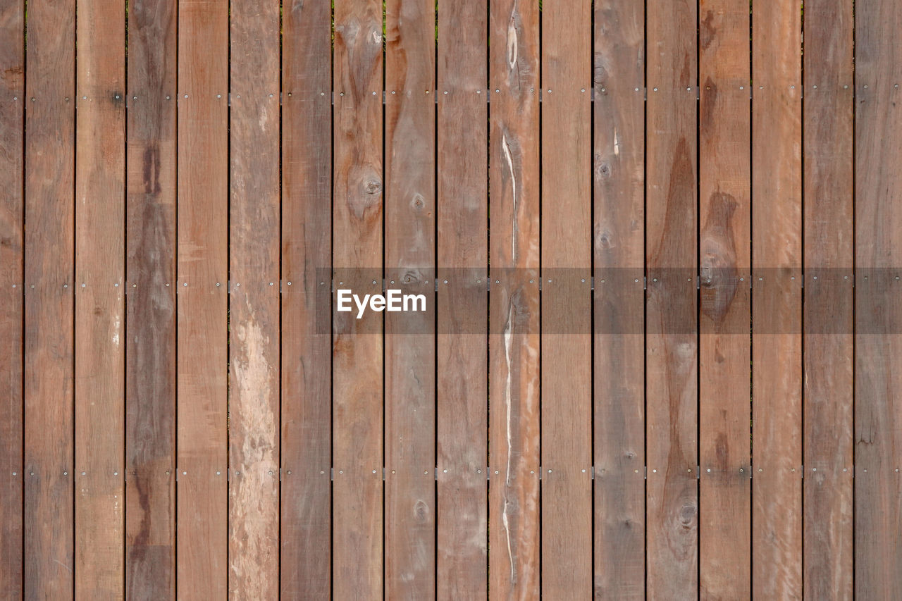 wood - material, full frame, backgrounds, pattern, textured, wood grain, wood, no people, brown, plank, old, flooring, boundary, barrier, fence, repetition, close-up, wall - building feature, hardwood, striped, textured effect, wood paneling, outdoors, antique, abstract