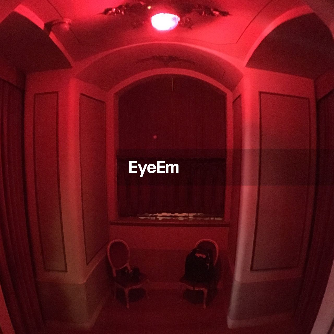 door, indoors, red, illuminated, no people, architecture, day, close-up