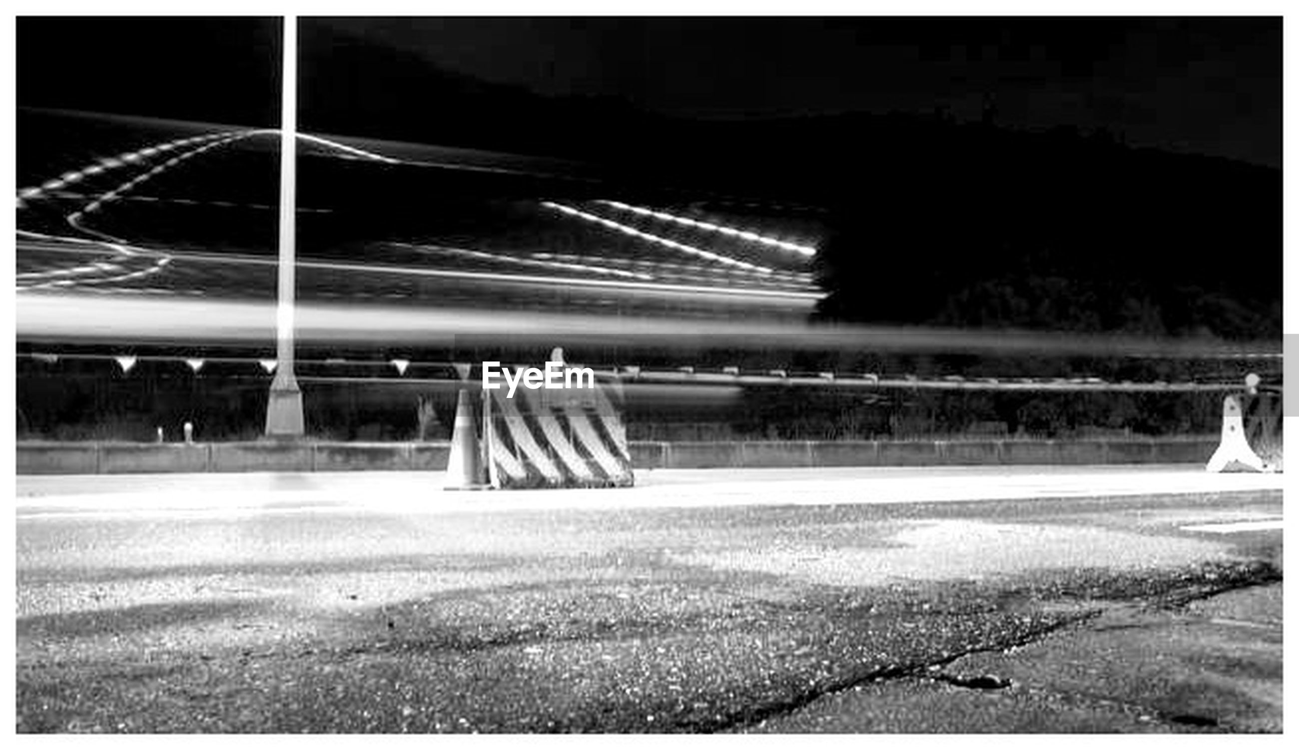 night, transfer print, illuminated, road, transportation, auto post production filter, street, long exposure, motion, light trail, blurred motion, road marking, speed, the way forward, outdoors, street light, diminishing perspective, sky, grass, no people