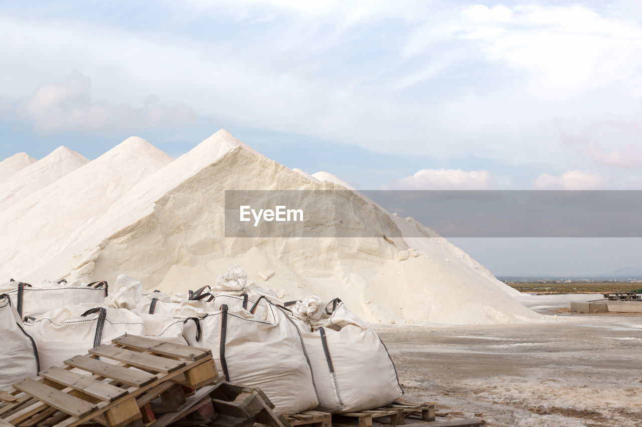 Heap Of Salt In Majorca