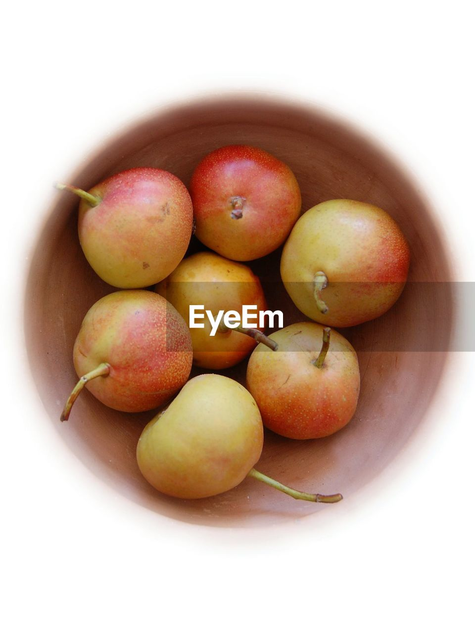 Directly Above View Of Fruits In Bowl