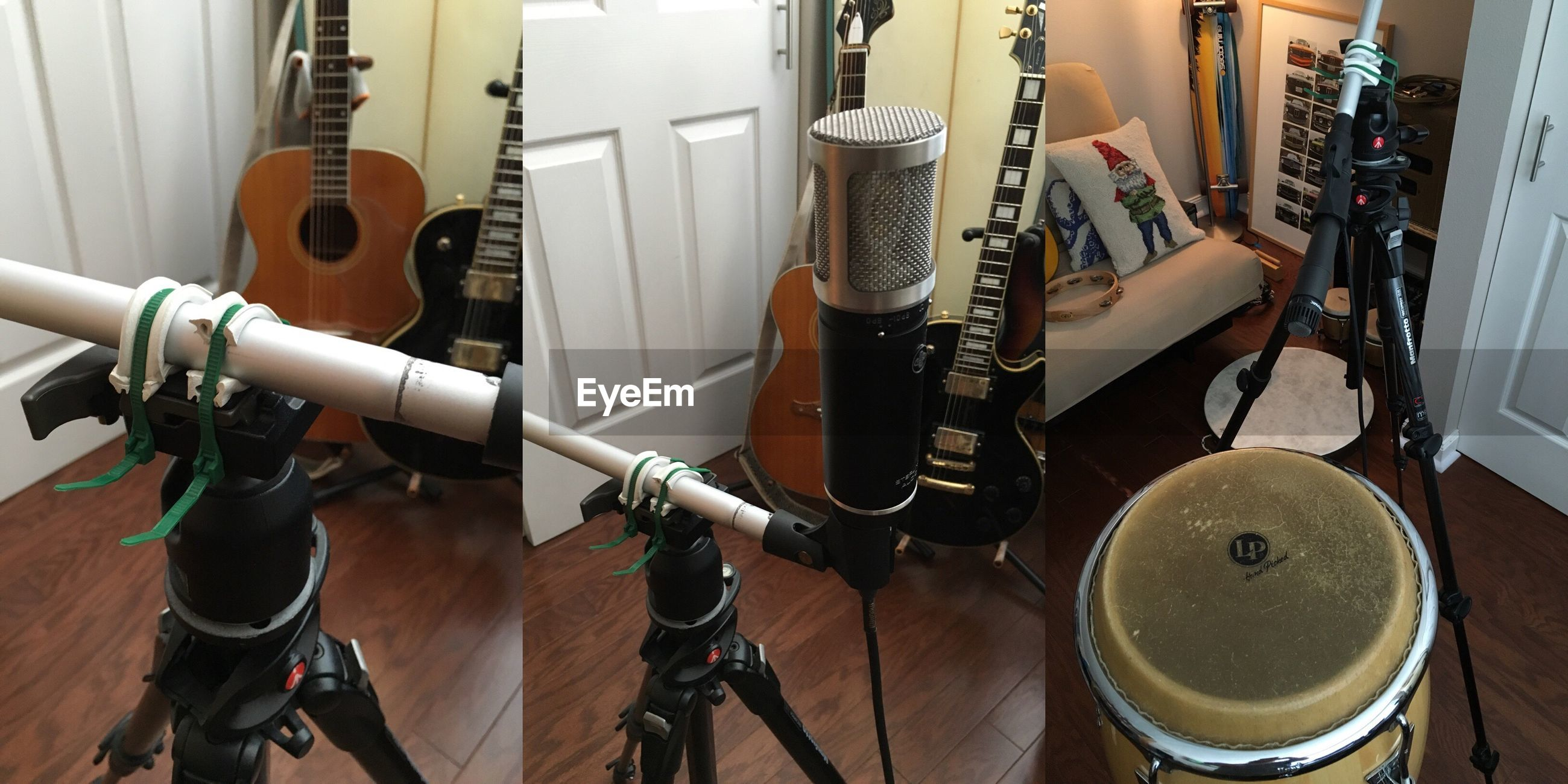 technology, indoors, recording studio, music, arts culture and entertainment, connection, musical instrument, microphone, no people, cable, sound recording equipment, close-up, day