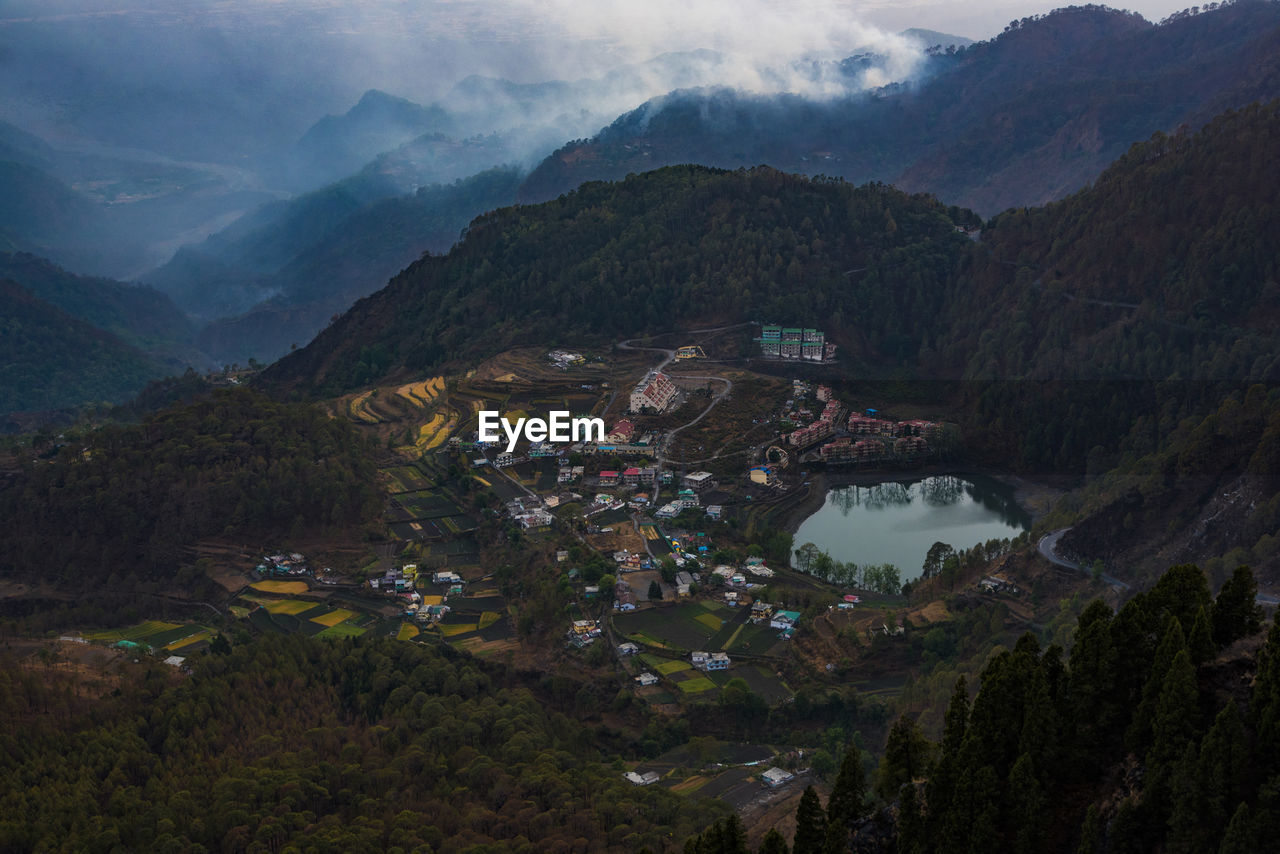 The lake of khurpatal, uttarakhand india