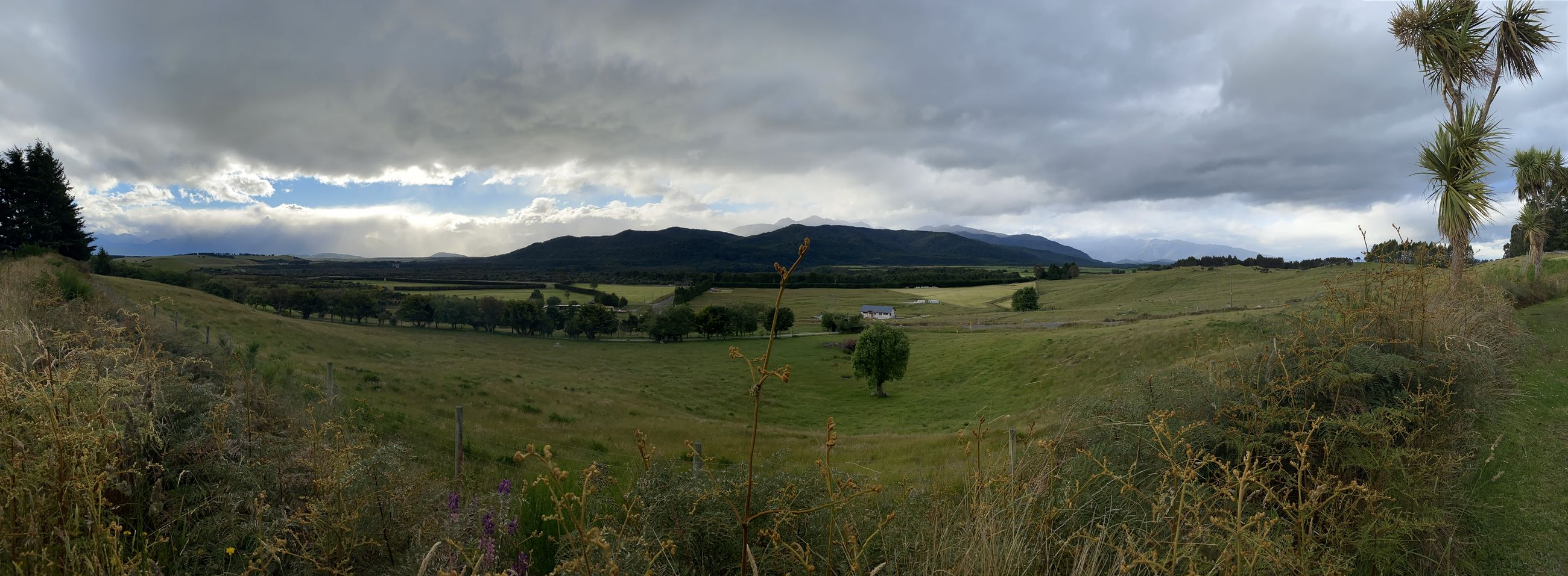 PANORAMIC VIEW OF LANDSCAPE