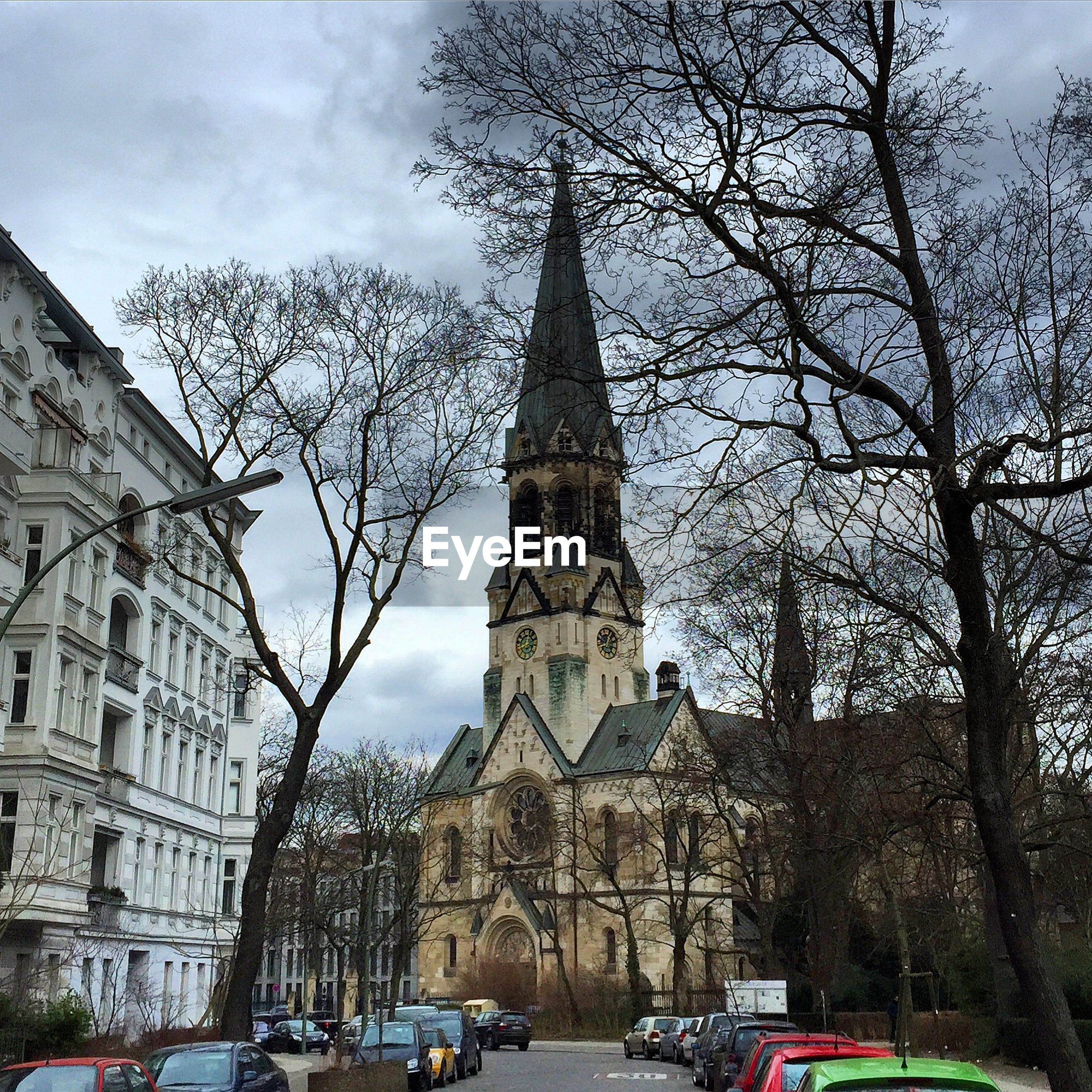 LOW ANGLE VIEW OF OLD CHURCH