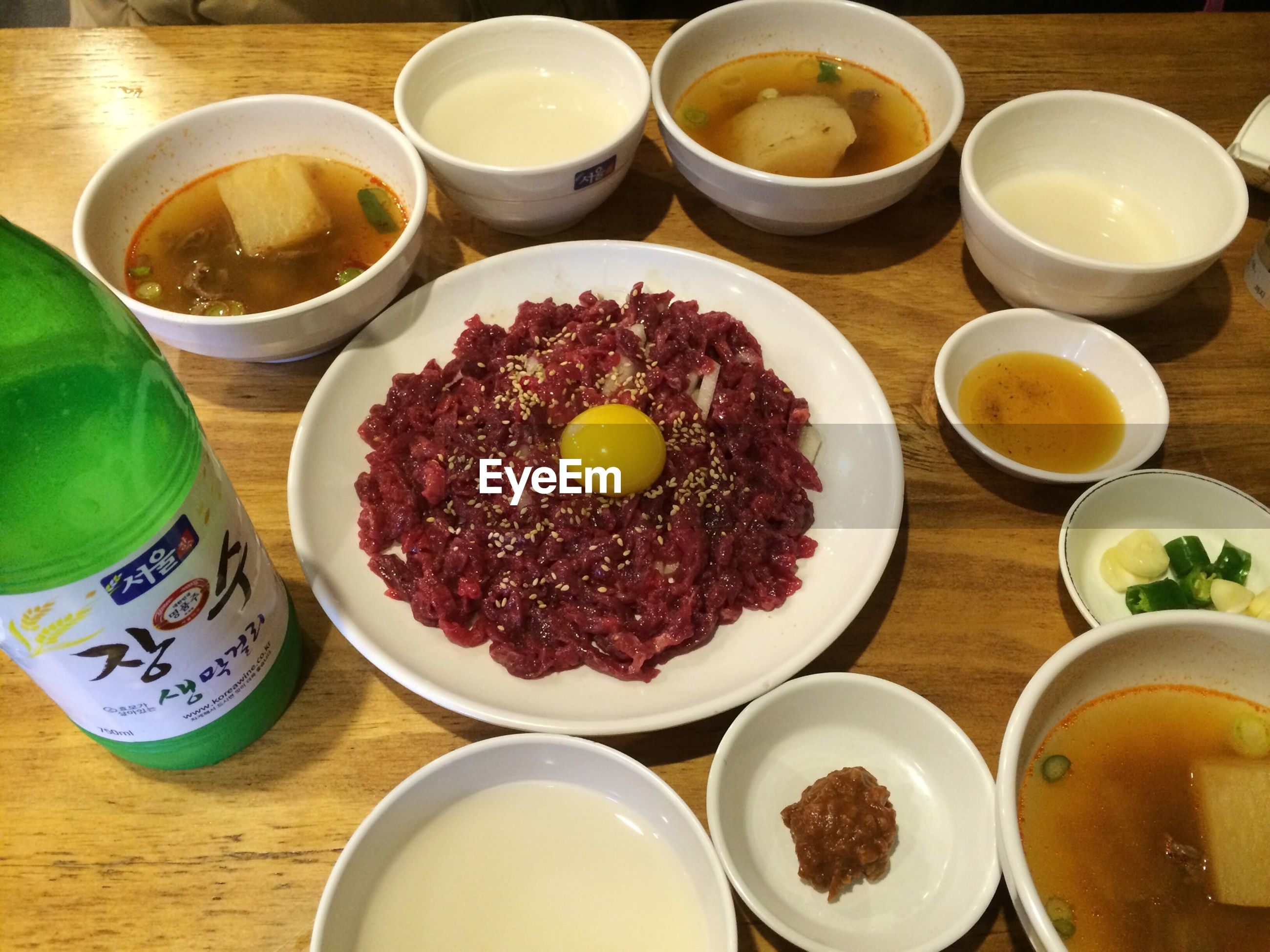 food and drink, freshness, indoors, food, still life, table, ready-to-eat, plate, bowl, high angle view, healthy eating, drink, directly above, variation, indulgence, sweet food, refreshment, close-up, serving size, breakfast